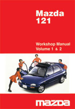 Mazda 121 1990-1998 Workshop Manual