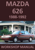 Mazda 626 1988-1992 Workshop Repair Service manual Download PDF