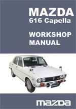 Mazda Capella 616 Workshop Manual