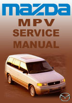 Mazda MPV Series 1 Workshop Manual