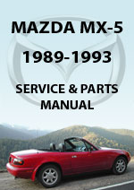 Mazda Miata MX5 NA Series Workshop Manual