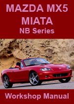 Mazda Miata MX-5 NB 1999-2000 Workshop Repair Manual