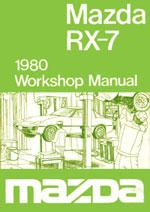 Mazda Rx7 Series 1 1979 1980 Workshop Repair Manual