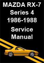 Mazda RX7 Series 4 Workshop Repair Manual