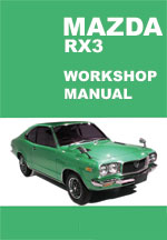 Mazda RX3 Workshop Manual