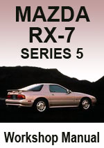 Mazda RX-7 Series 5 1989-1991 Workshop Manual